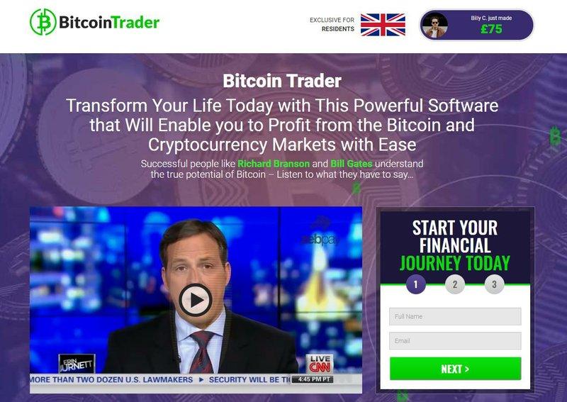 bitcoin trader questa mattina